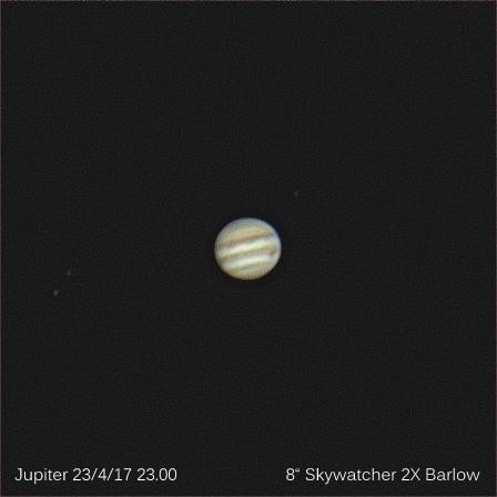 Jupiter 23.4.17